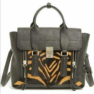 Philip Lim 3.0 Pashli satchel animal tiger design